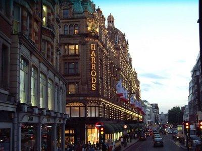 almacenes harrods en Londres