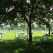 Relajarse en Hyde Park