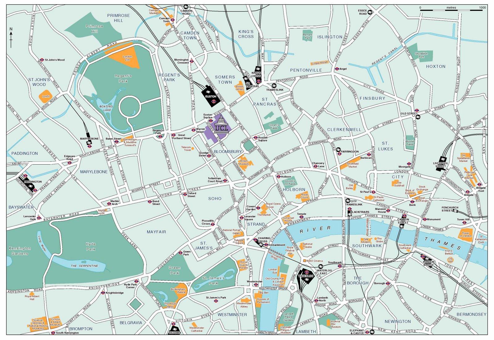 Mapa Turístico De Londres.Plano De Londres Descargate El Plano Turistico De Londres