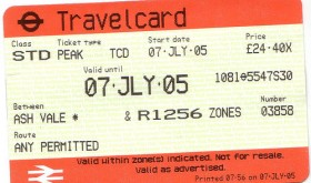 travelcard-londres